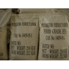 Food Grade Potassium Ferrocyanide From China Suppliers at Factory Best Price suppliers