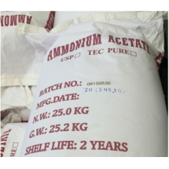 Buy Ammonium acetate 98% at best price from China factory suppliers suppliers