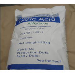 Buy Citric acid anhydrous BP grade suppliers price