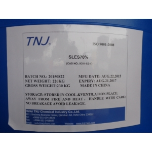 SLES 70% Sodium Lauryl Ether Sulfate 70% suppliers