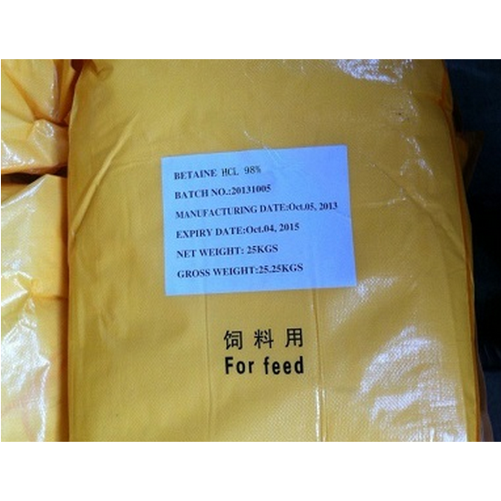 Buy Betaine HCL Feed Grade As Nutrition Supplement For Poultry