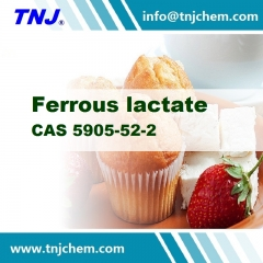 Buy Ferrous lactate from China supplier at factory price suppliers