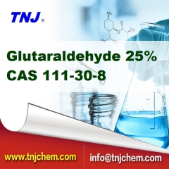Glutaraldehyde 25% price, CAS 111-30-8 suppliers