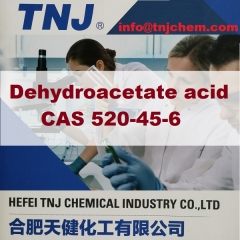 Buy Dehydroacetate acid CAS 520-45-6 suppliers manufacturers