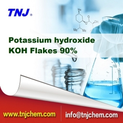 90% Potassium hydroxide KOH price suppliers