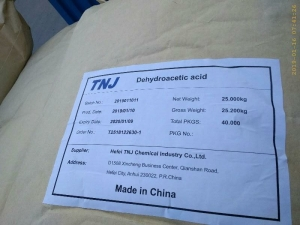 Buy Dehydroacetic Acid at best price from China factory suppliers suppliers