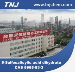 CAS 5965-83-3, 5-Sulfosalicylic acid dihydrate suppliers price suppliers